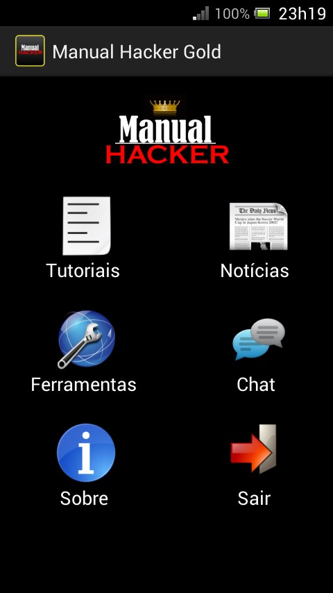 Manual Hacker Gold - Imagem 1 do software