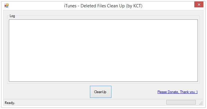 iTunes - Deleted Files Clean Up