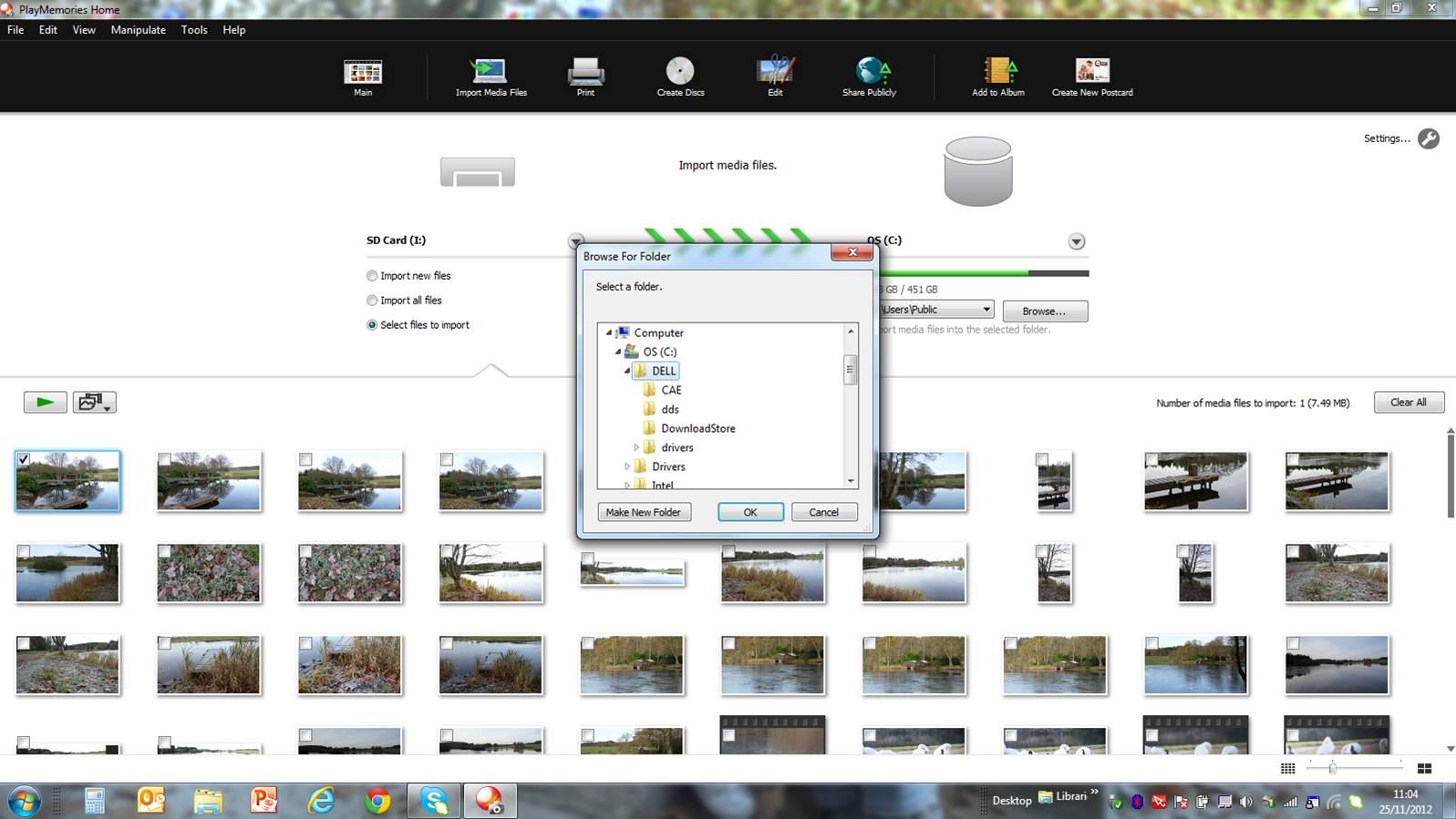 PlayMemories Home - Imagem 1 do software