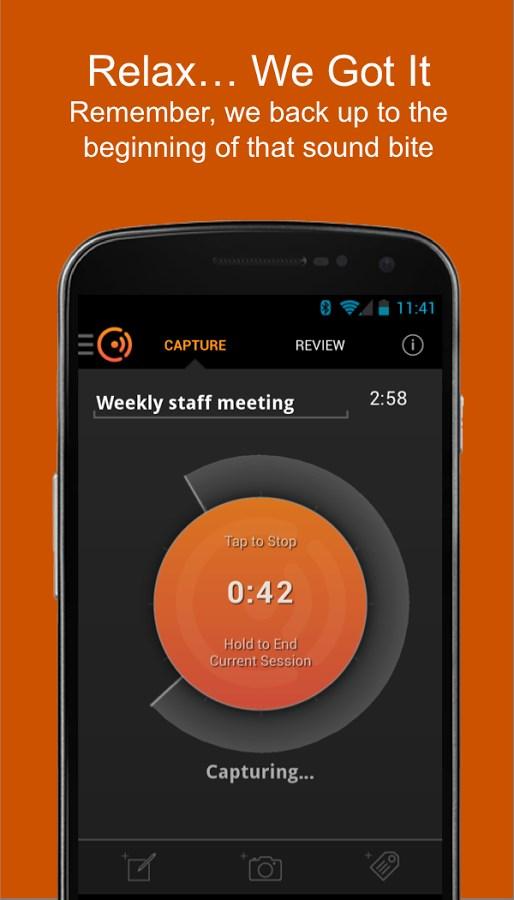 Cogi Note & Voice Recorder - Imagem 1 do software