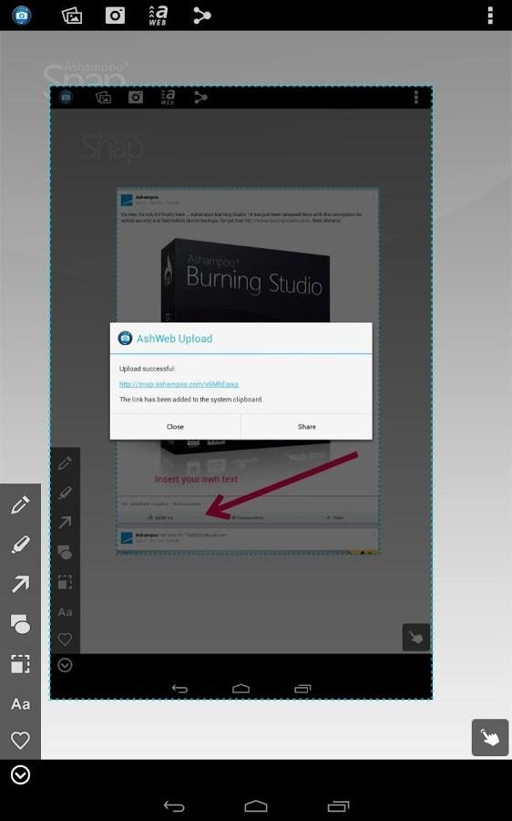 Ashampoo Snap Free Screenshot - Imagem 1 do software