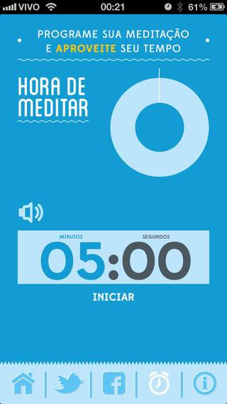5 minutos - Eu Medito - Imagem 2 do software