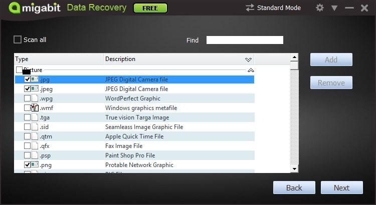 Amigabit Data Recovery Free
