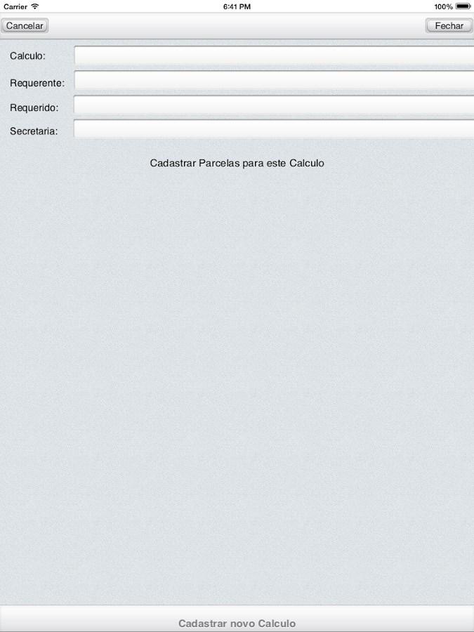 Cálculo Cível Judicial - Imagem 4 do software