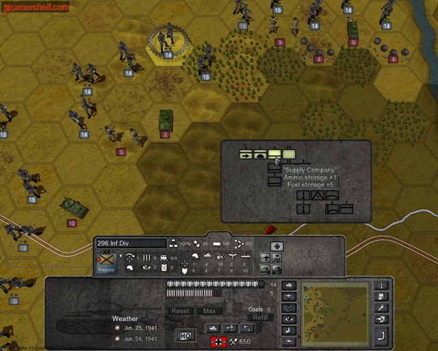 Germany at War: Barbarossa 1941 - Imagem 3 do software