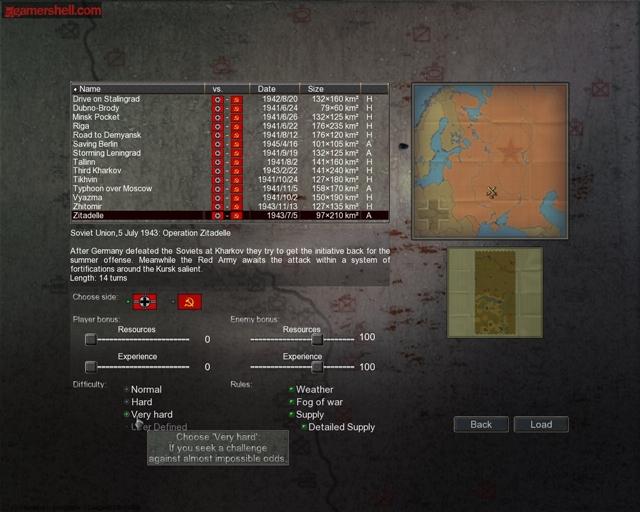 Germany at War: Barbarossa 1941 - Imagem 4 do software