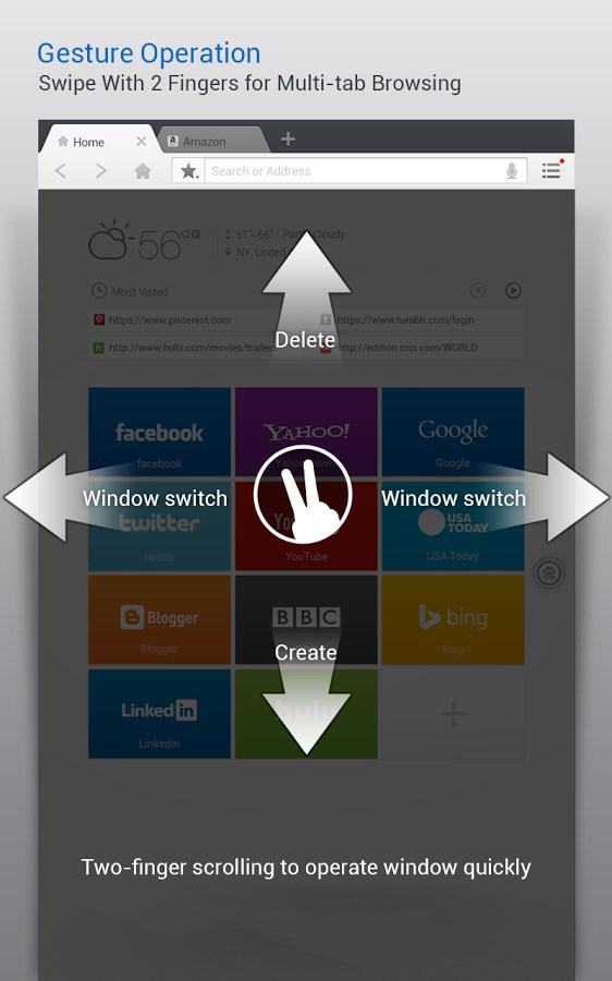 Baidu Browser HD - Imagem 5 do software