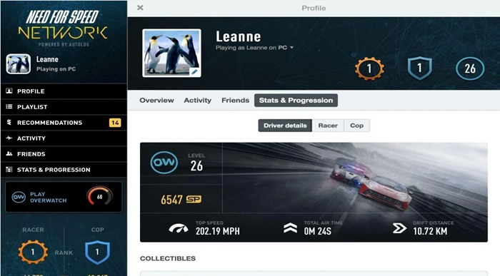 Need for Speed(TM) Network - Imagem 1 do software