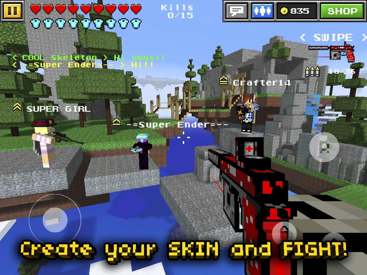 Pixel Gun 3D (Minecraft style) - Imagem 1 do software