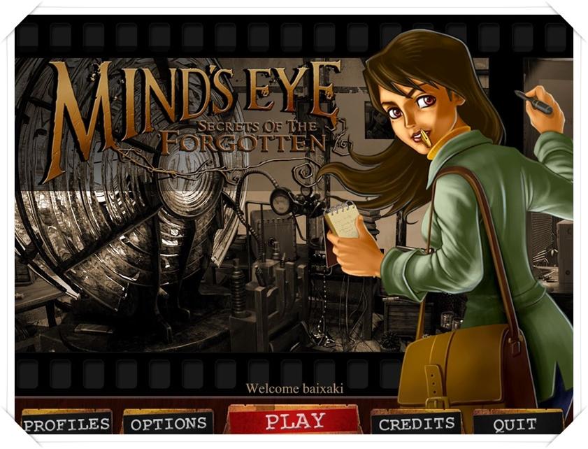 Minds Eye - Secrets of the Forgotten - Imagem 1 do software