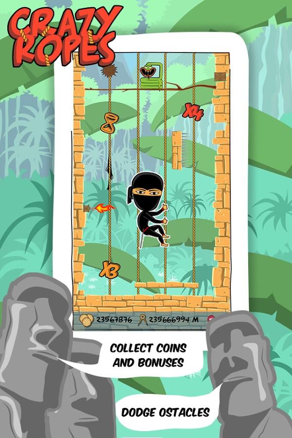 Ninja Jumps: The Crazy Ropes - Imagem 1 do software