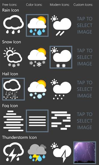 Weather+ - Imagem 1 do software