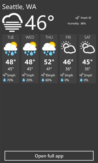 Weather+ - Imagem 2 do software