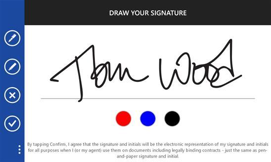 DocuSign Ink - Imagem 1 do software
