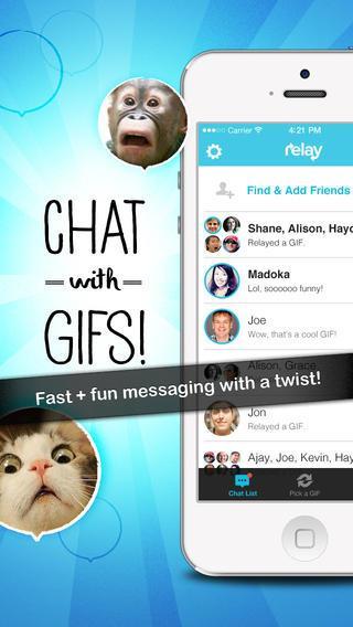 Relay - GIF Texting - Imagem 1 do software