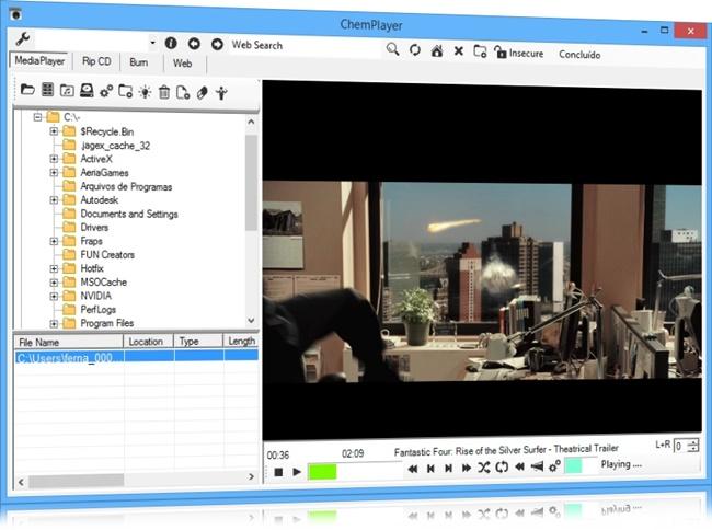 ChemPlayer - Imagem 1 do software