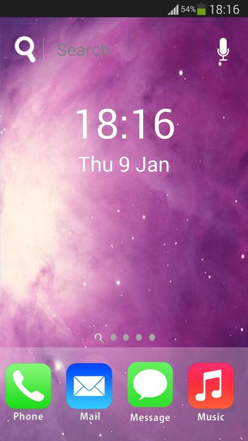 iLauncher 7 i5 Theme HD Free - Imagem 1 do software