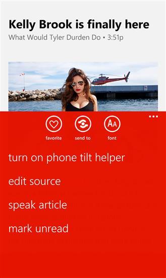 Weave News Reader - Imagem 1 do software