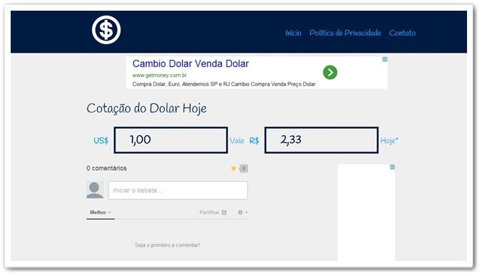 Cotação do Dólar em Tempo Real – informe-se aqui para bons negócios