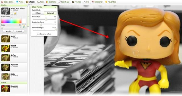 Ribbet Photo Editor - Imagem 2 do software