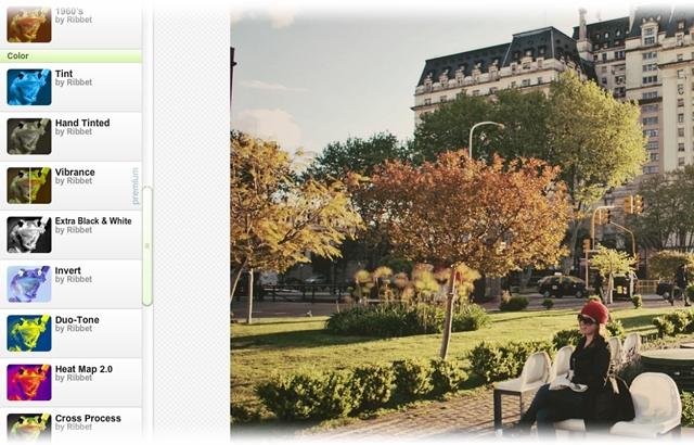 Ribbet Photo Editor - Imagem 1 do software