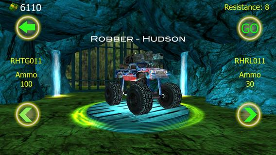 Crazy Monster Truck Fighter Run - A real death rider - Imagem 1 do software