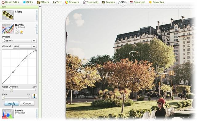 Ribbet Photo Editor - Imagem 4 do software