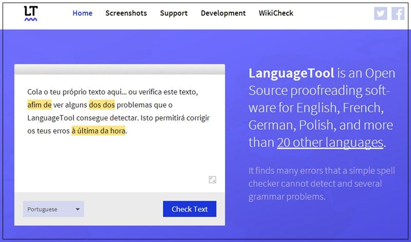 LanguageTool - Imagem 1 do software