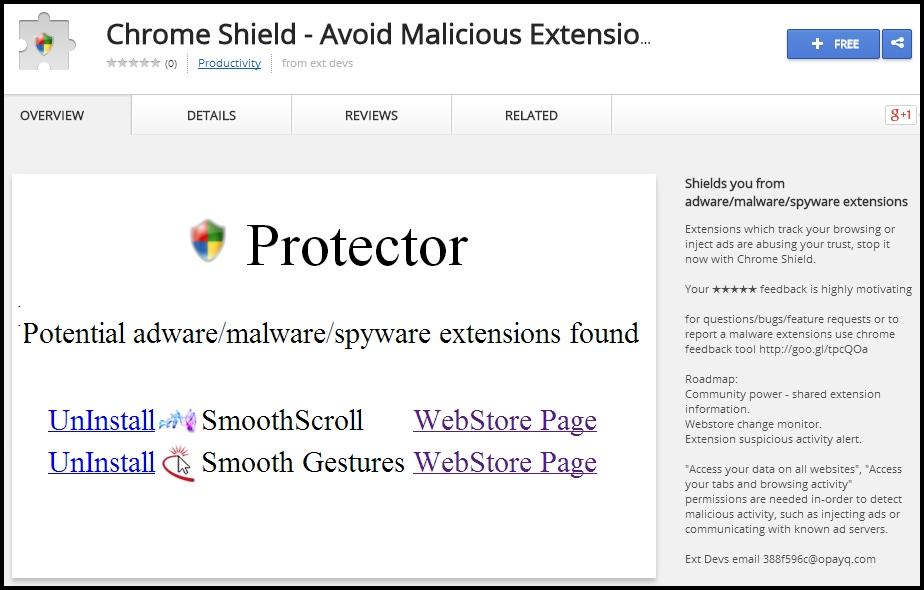 Chrome Shield - Imagem 1 do software