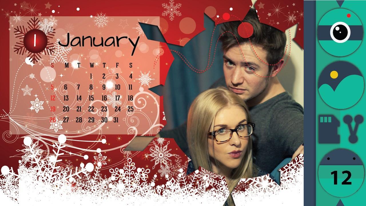 Calendar Photo Frames - Imagem 1 do software