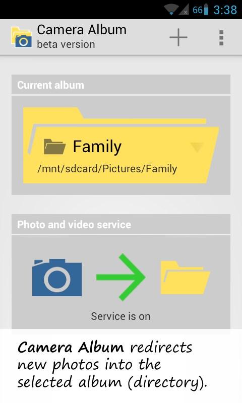 Camera Album - Imagem 2 do software