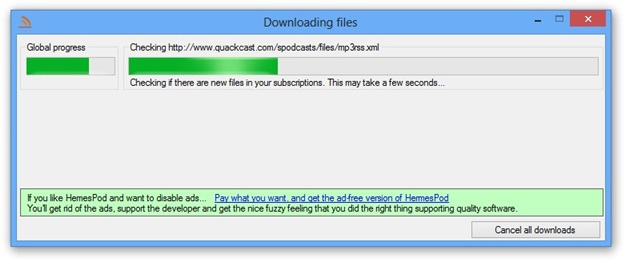 Efetuando o download