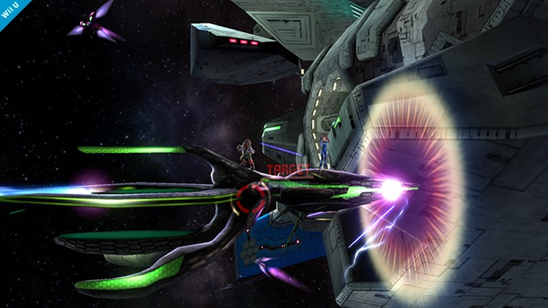 Orbital Gate é cenário exclusivo para Wii U em Super Smash Bros.