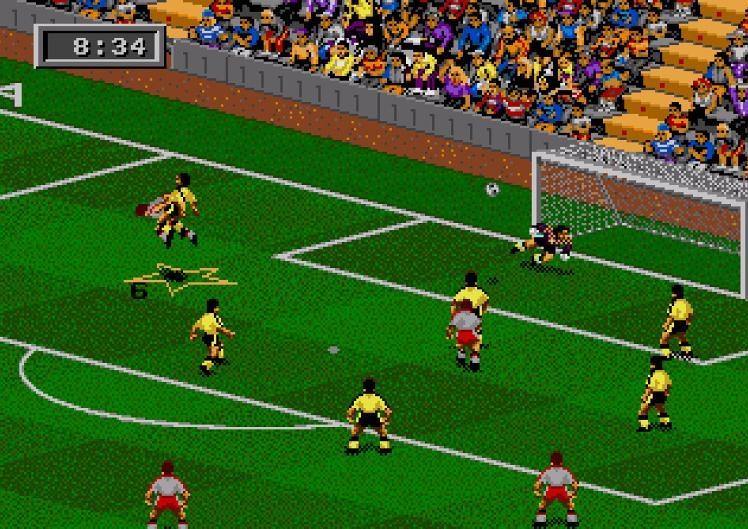 FIFA 95 (1994) (Mega Drive) | Capa: Erik Thorstvedt | Narração e comentários: nenhum