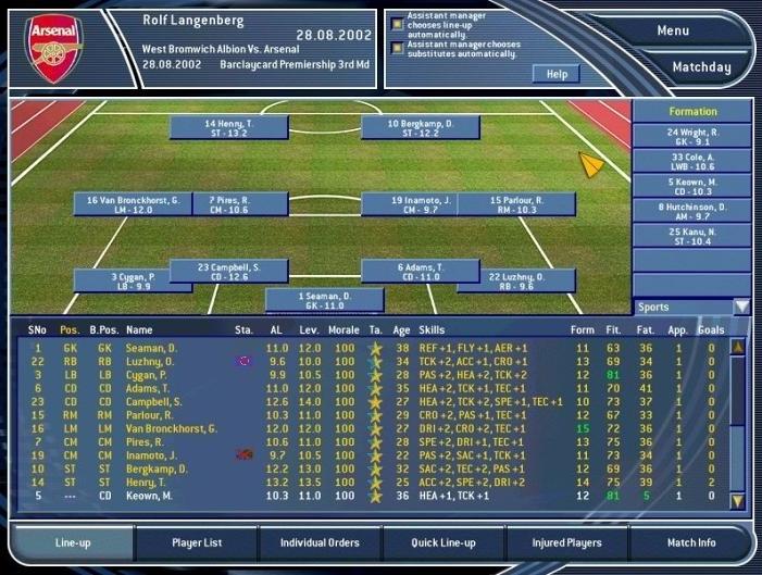 TOTAL CLUB MANAGER 2003 (2002) (PC) | Capa: Bobby Robson | Narração e comentários: nenhum