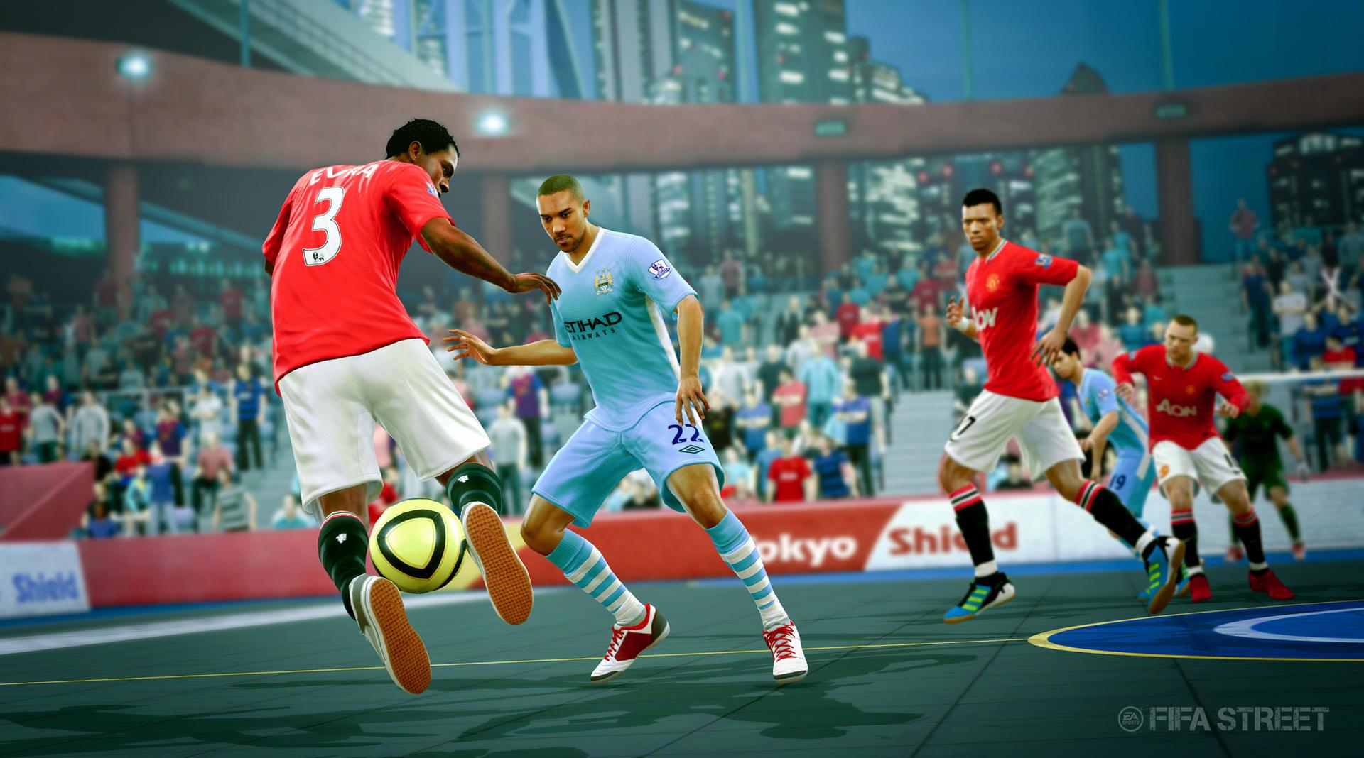 FIFA STREET (2012) (Xbox 360 e PS3) | Capa: Lionel Messi | Narração e comentários: nenhum