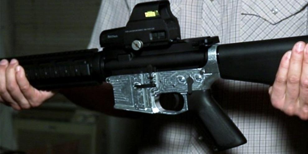 926b522517b Impressora 3D faz rifle AR-15 de metal e é comercializada por 1.200 dólares  - TecMundo
