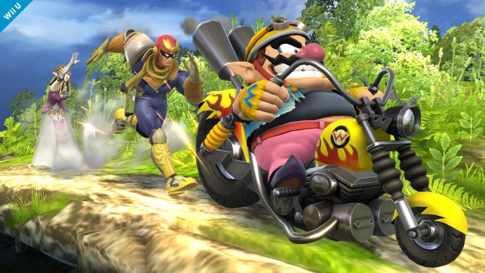 Veja Ness, Wario e Falco em ação em Super Smash Bros. [imagens]