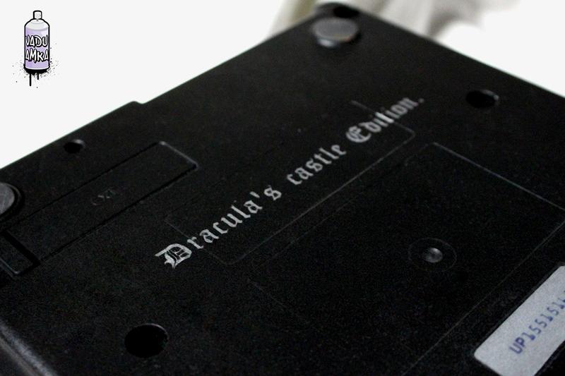 Super NES modificado com tema de Castlevania