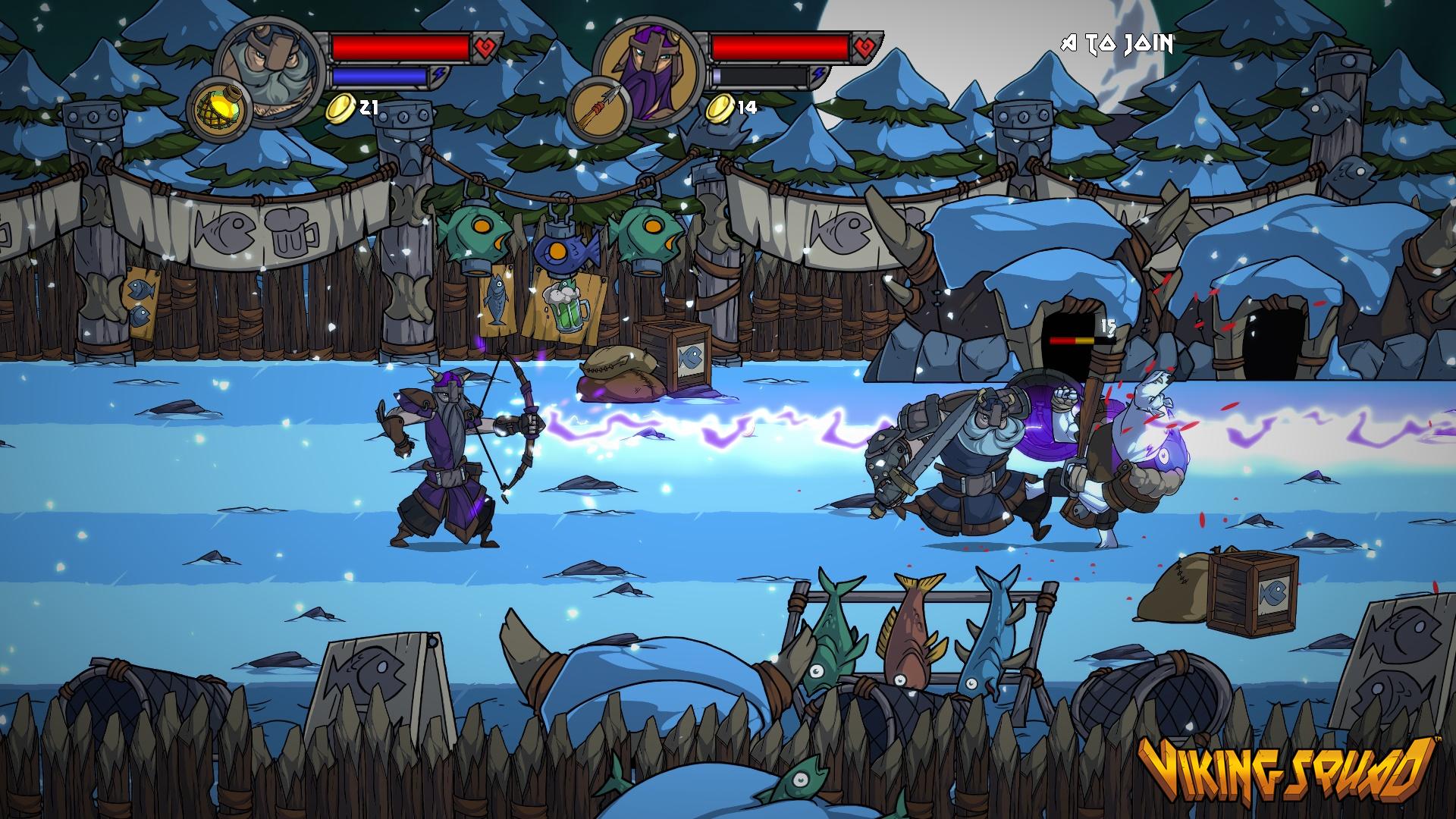 Viking Squad chega ao PS4 2015