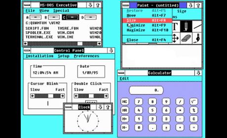 A História do Windows. 08080132650005