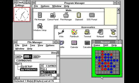 A História do Windows. 08080146003006