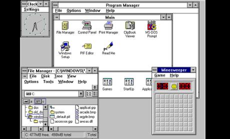A História do Windows. 08080159731007