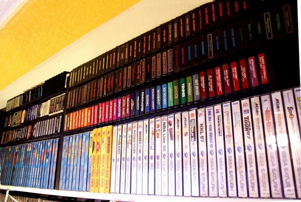 Incrível coleção de jogos está à venda no eBay por mais de 100 mil dólares