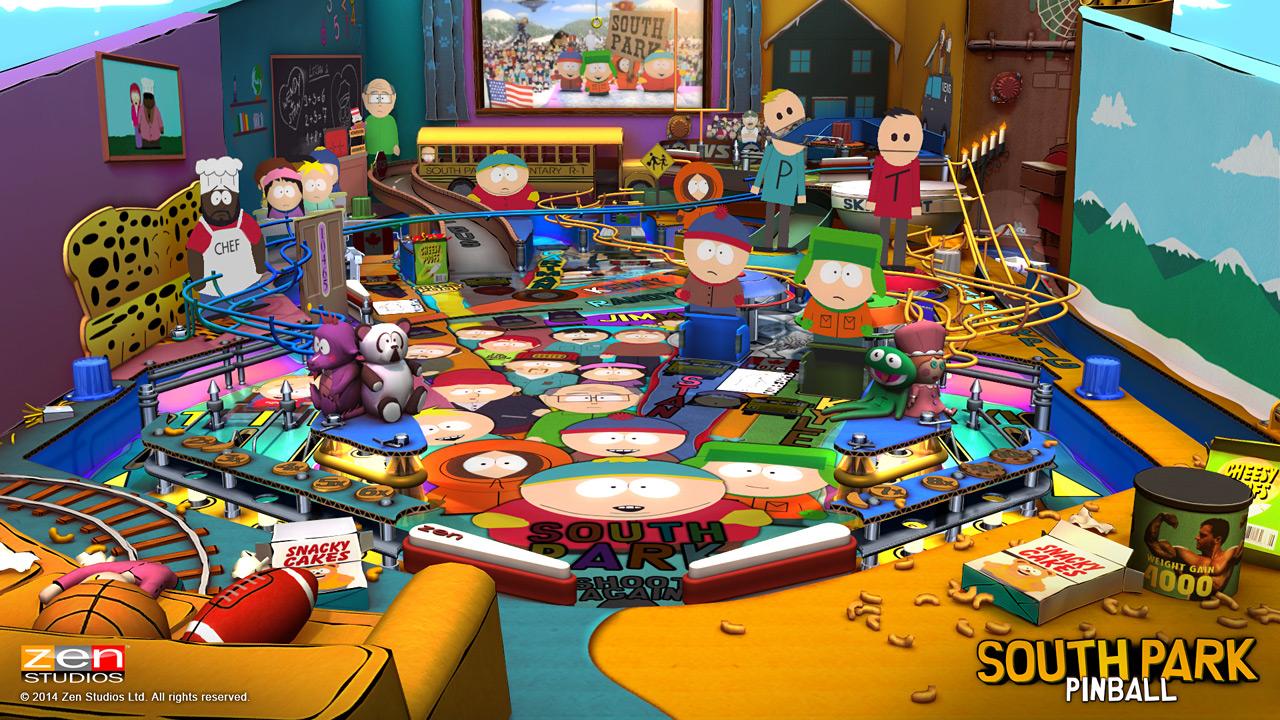Pinball com tema de South Park chega esta semana para várias plataformas