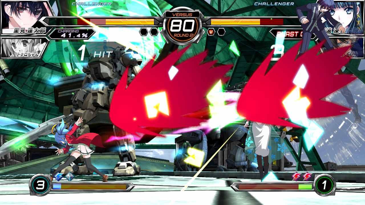 Dengeki Bunko Fighting Climax - Trailer de personagens