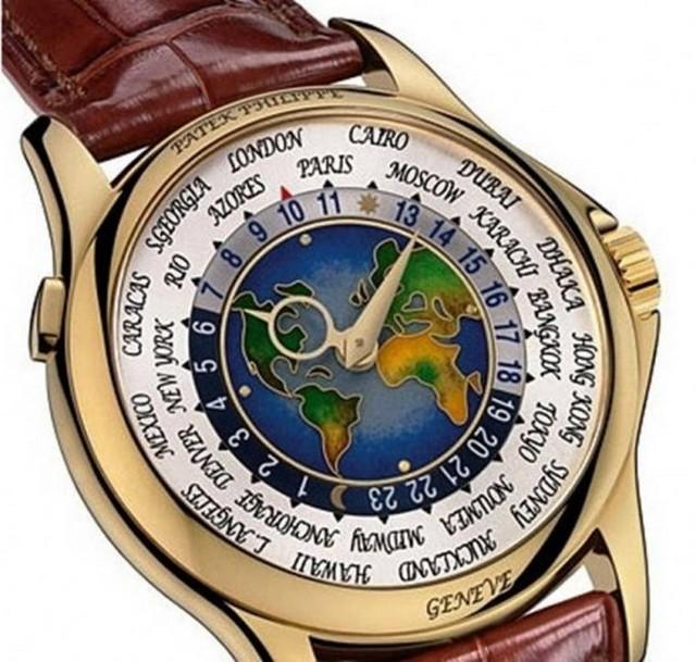 43b70e3f9dd ... apenas uma unidade do Patek Philippe Platinum World Time foi produzida  e