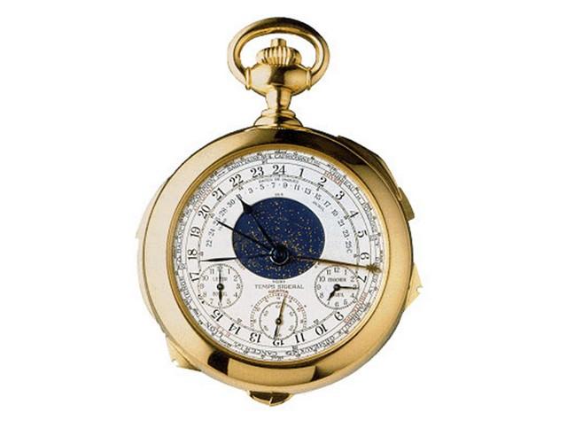0921a320c78 Você alguma vez imaginou que um relógio de bolso pudesse ser tão valioso   Pois o modelo acima