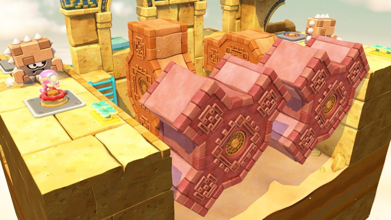 Captain Toad: Treasure Tracker Trailer Reveals Playable Toadette