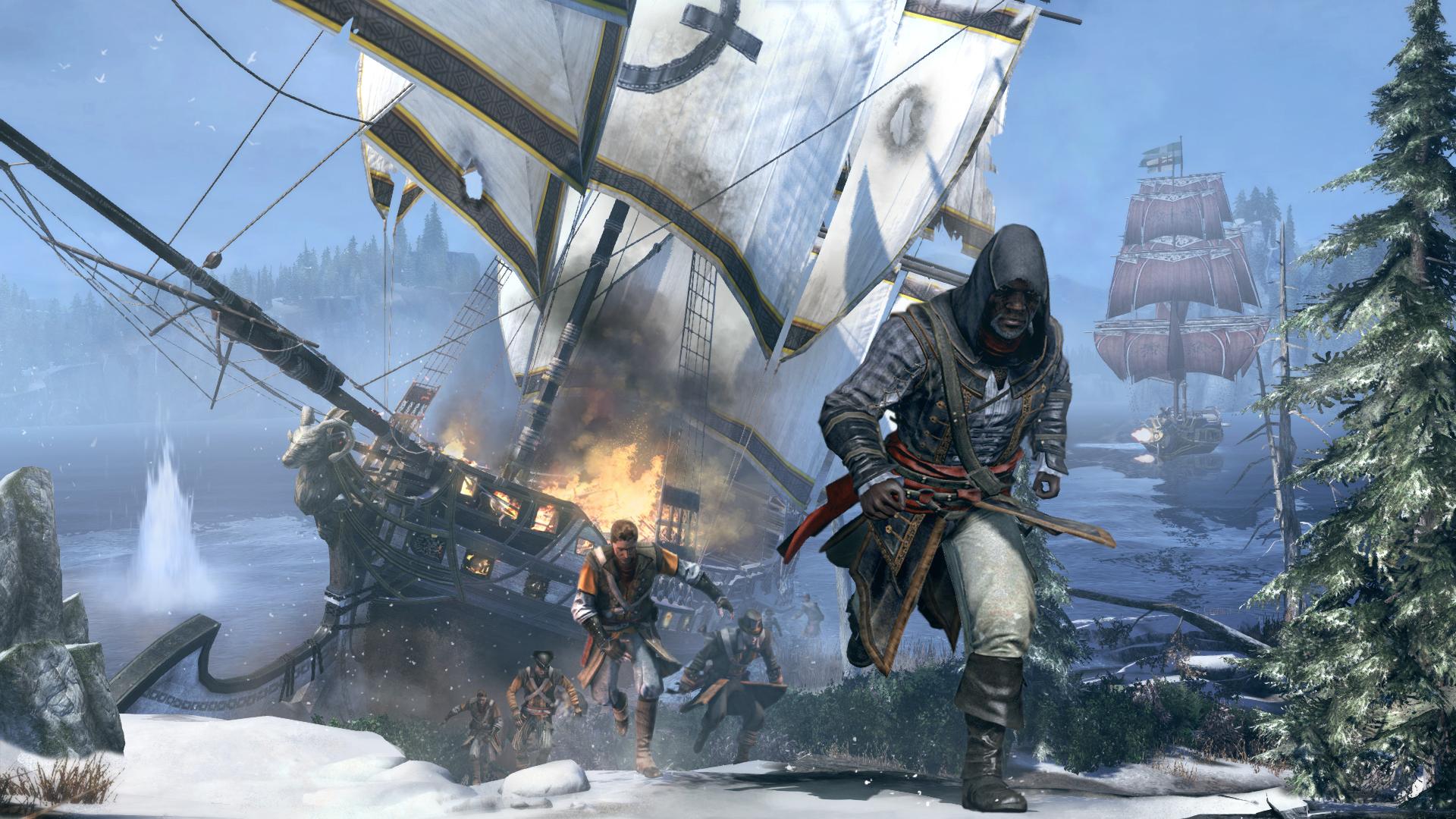 Assassin's Creed Rogue Screens & Artworks
